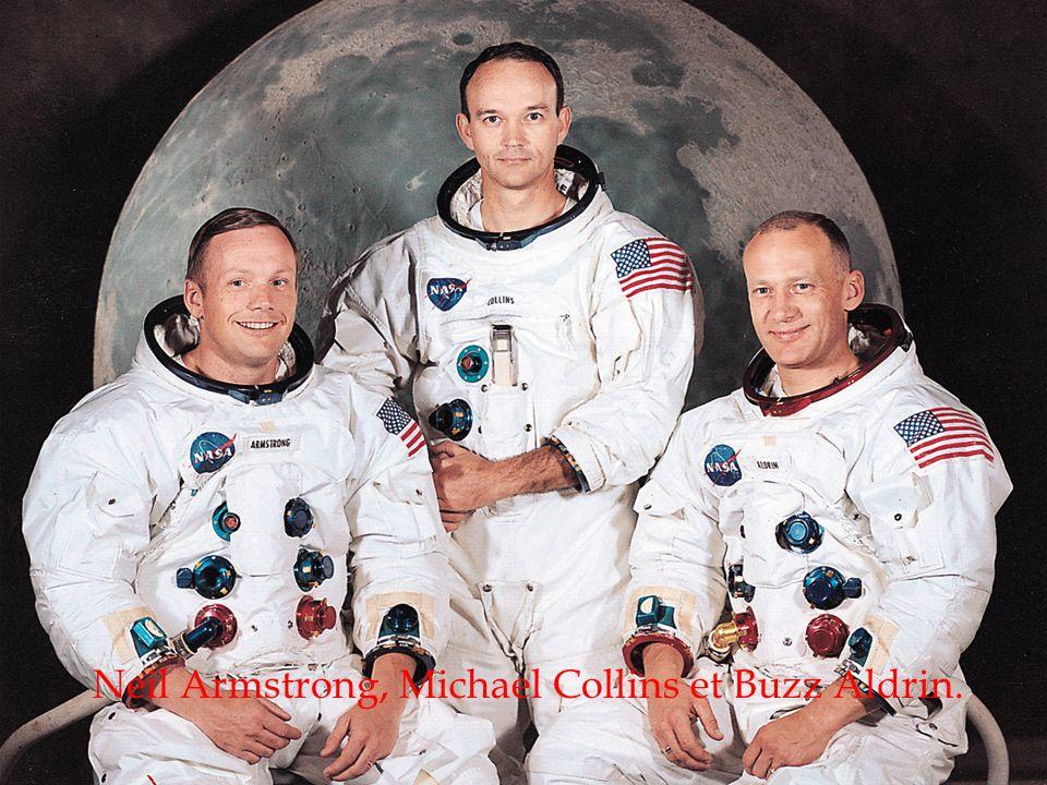 Neil Armstrong, Michael Collins et Buzz Aldrin.
