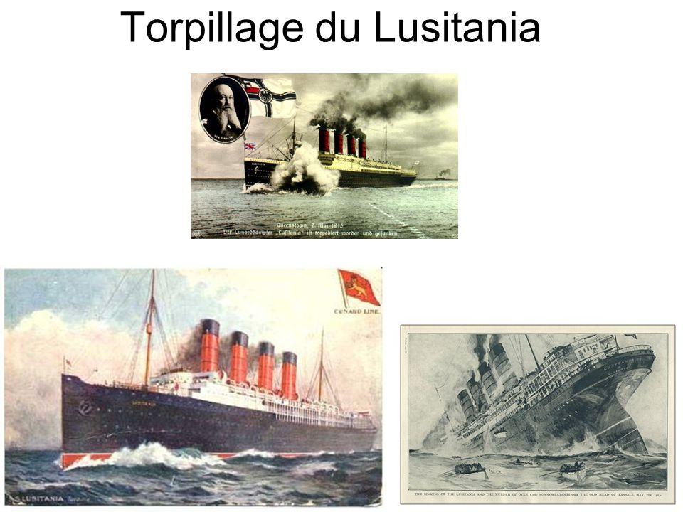 Torpillage du Lusitania