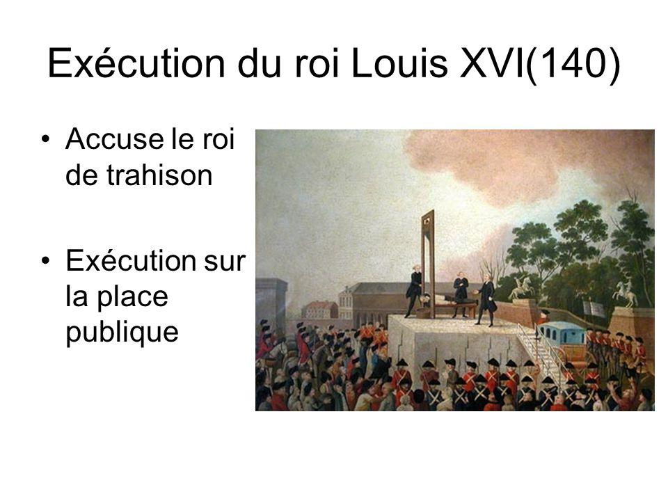 La monarchie constitutionnelle(138) 1 ère constitution française Droit de véto au roi Crainte des autres pays