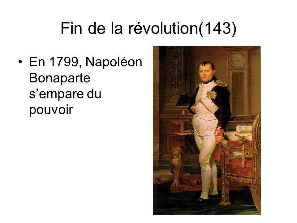 Le règne de la Terreur(141) Régime de terreur sous Robespierre Plus de 40 000 victimes