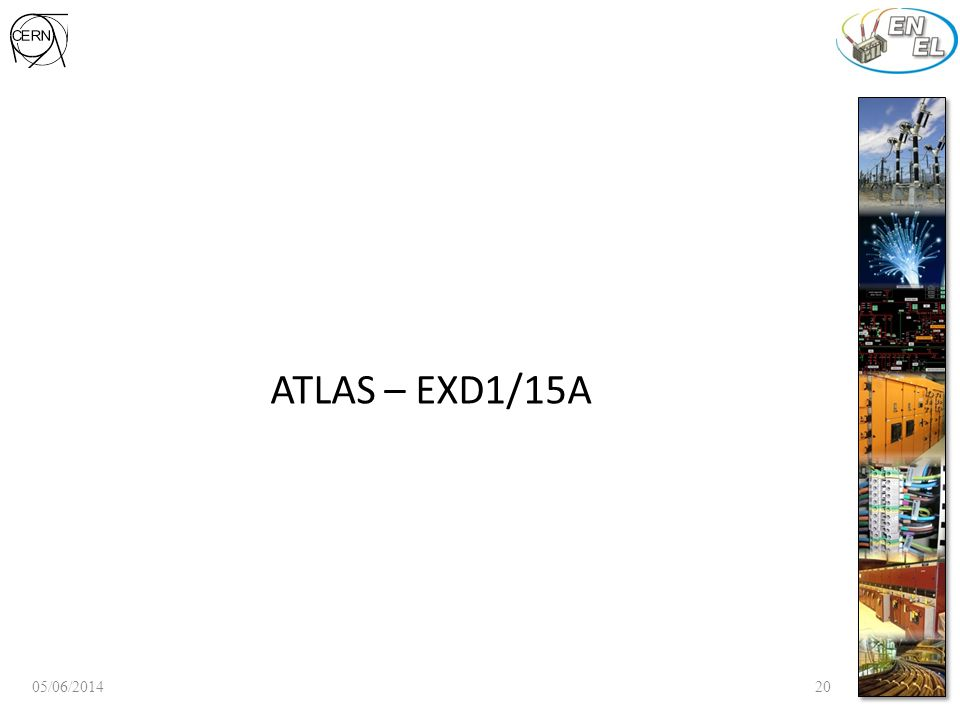 ATLAS – EXD1/15A 05/06/201420
