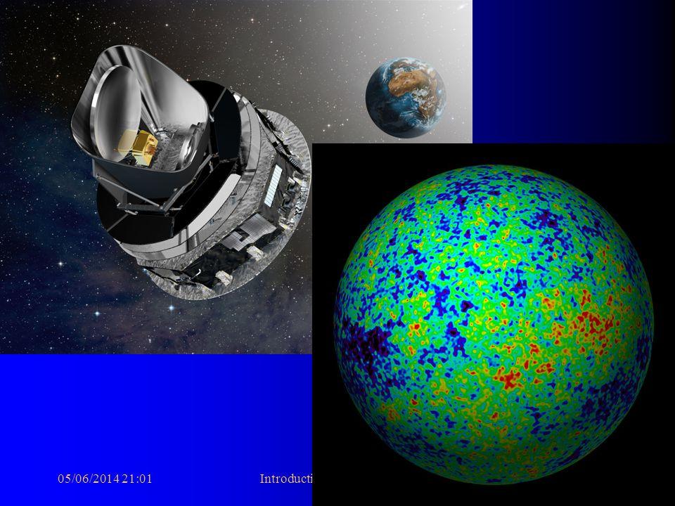 05/06/2014 21:03Introduction à la Cosmologie3 notre univers il y a 13.7 milliards dannées vu par WMAP…