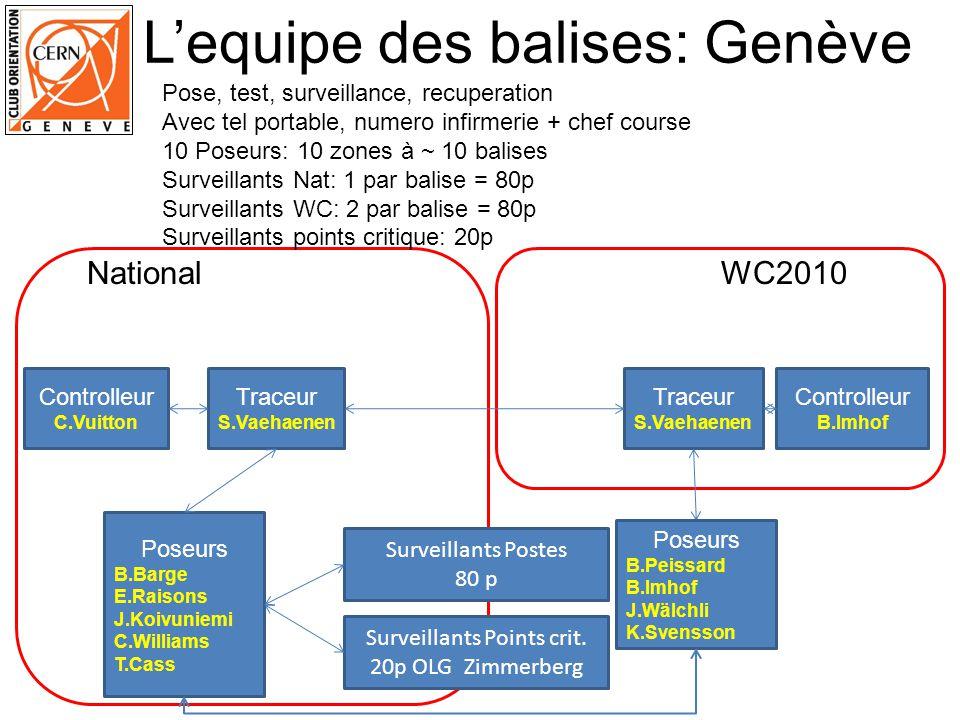 Traceur S.Vaehaenen Controlleur C.Vuitton Traceur S.Vaehaenen Controlleur B.Imhof Poseurs B.Barge E.Raisons J.Koivuniemi C.Williams T.Cass WC2010Natio