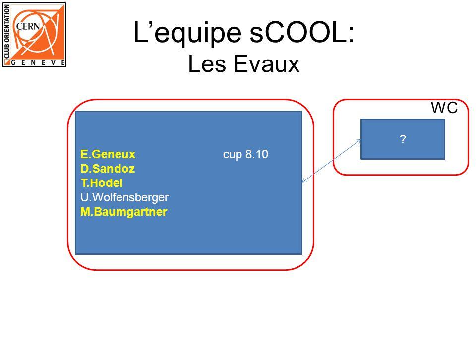 Lequipe sCOOL: Les Evaux ? WC E.Geneux cup 8.10 D.Sandoz T.Hodel U.Wolfensberger M.Baumgartner