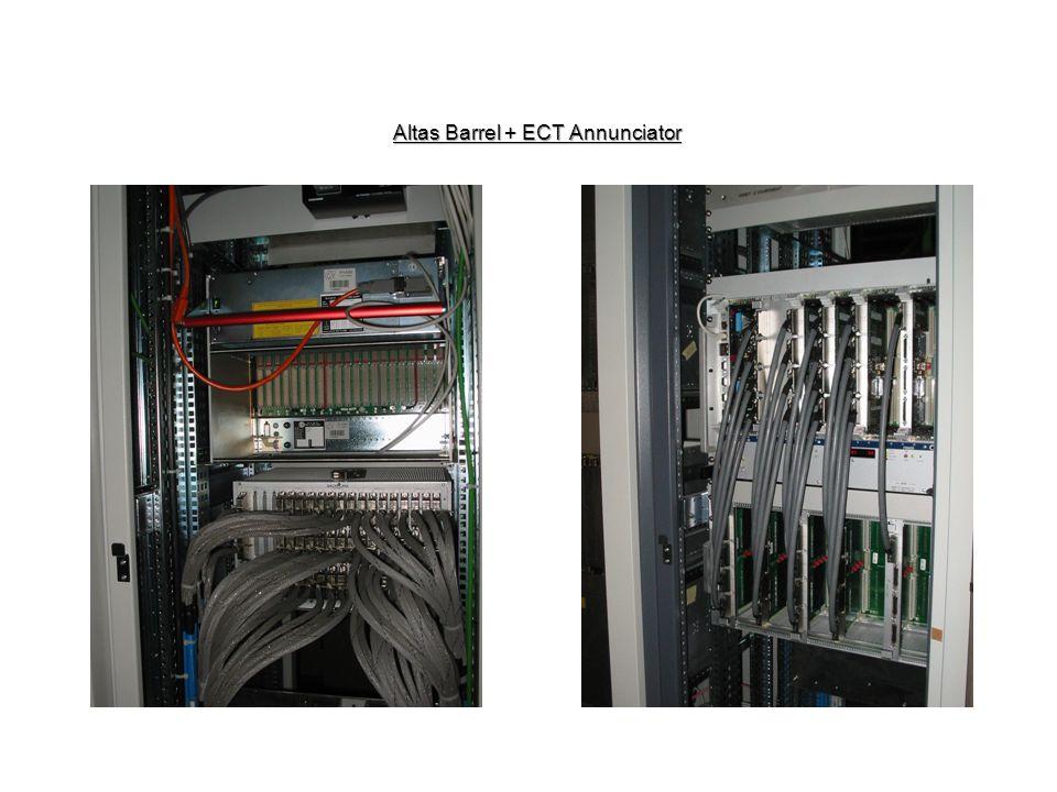 Altas Barrel + ECT Annunciator