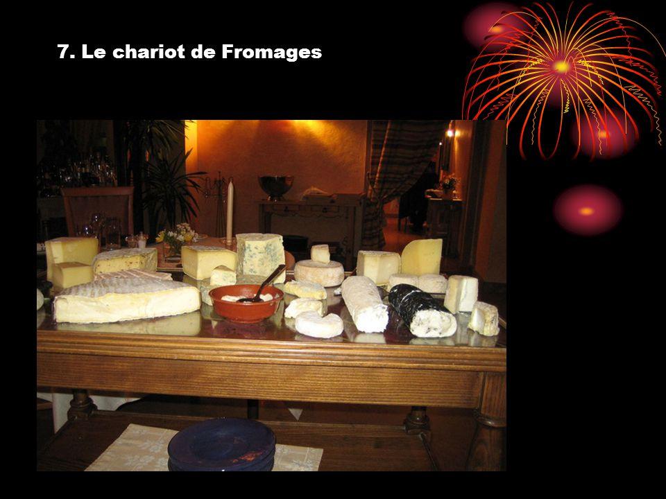 7. Le chariot de Fromages