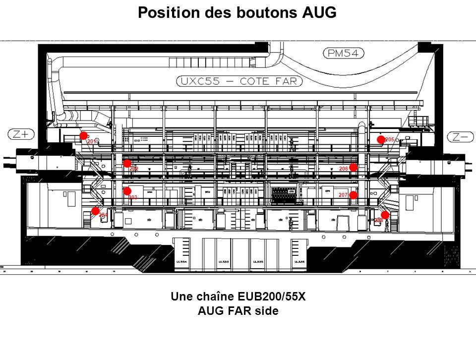 301 302 Une chaîne EUB300/55X AUG X0