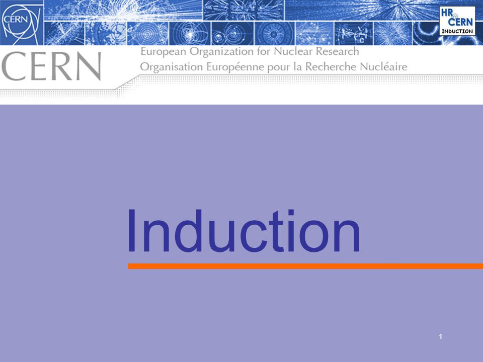 1 Induction