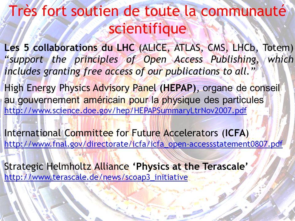 5 Les journaux de la HEP Les journaux nont plus le premier rôle dans la communication scientifique.
