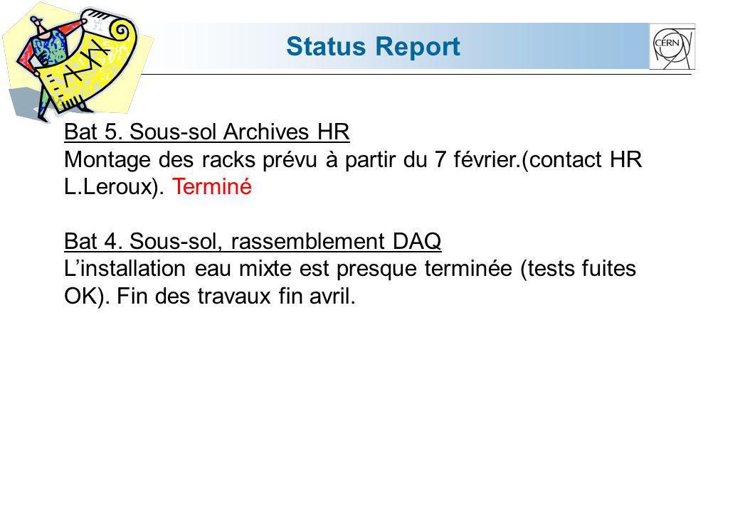 Status Report Bat 5.
