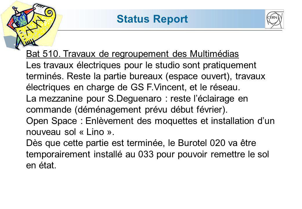 Status Report Bat 13.