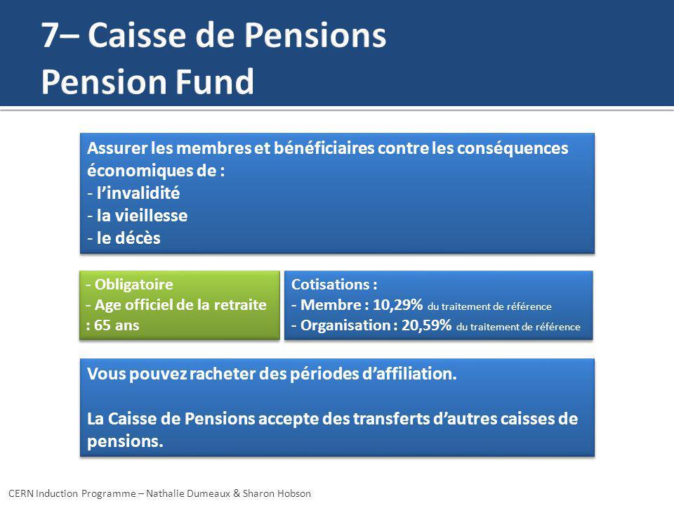 Assurer les membres et bénéficiaires contre les conséquences économiques de : - linvalidité - la vieillesse - le décès Assurer les membres et bénéfici
