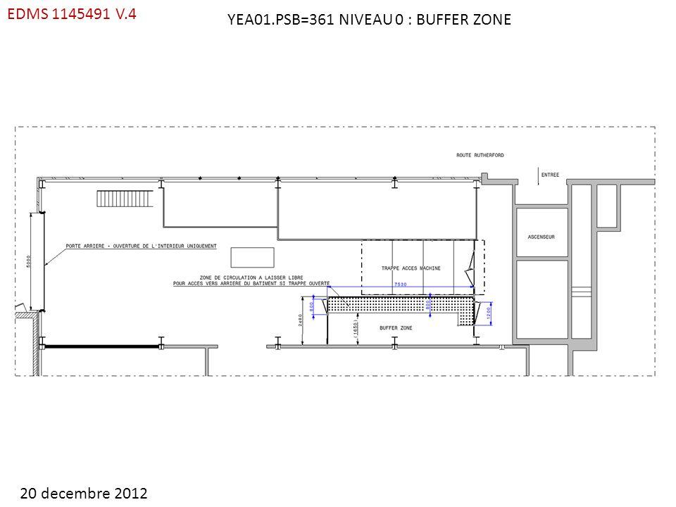 YEA01.PSB=361 NIVEAU 0 : BUFFER ZONE EDMS 1145491 V.4 20 decembre 2012
