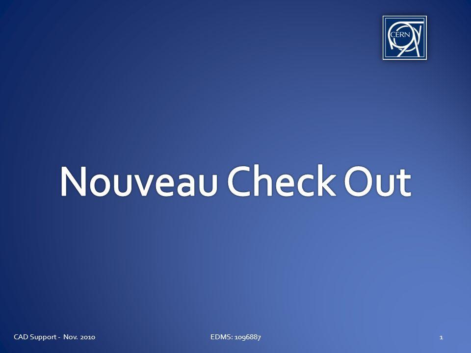 Nouveau Check Out Politique Quand un document est mis en check out, il sera automatiquement mis à jour pour pointer vers le dernier des enfants disponibles.