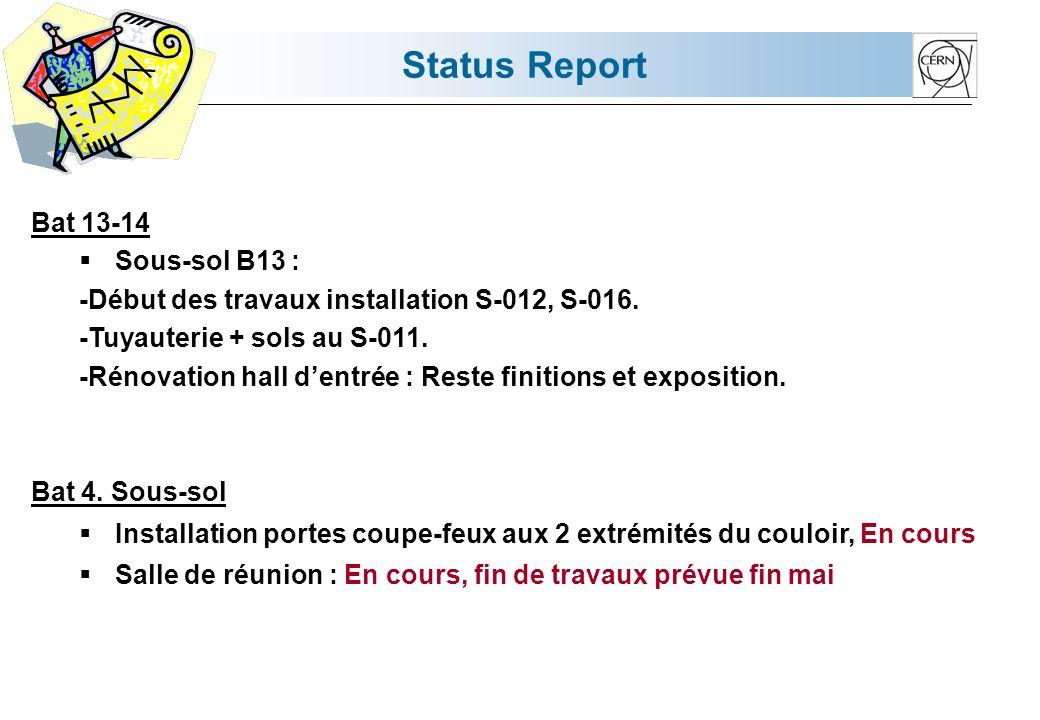 Status Report Bat 42.
