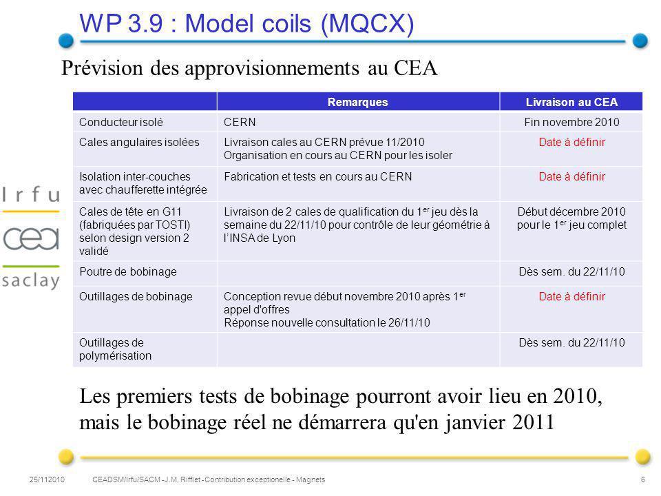 CEADSM/Irfu/SACM -J.M.