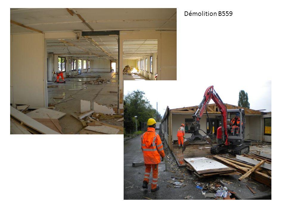 Démolition B559