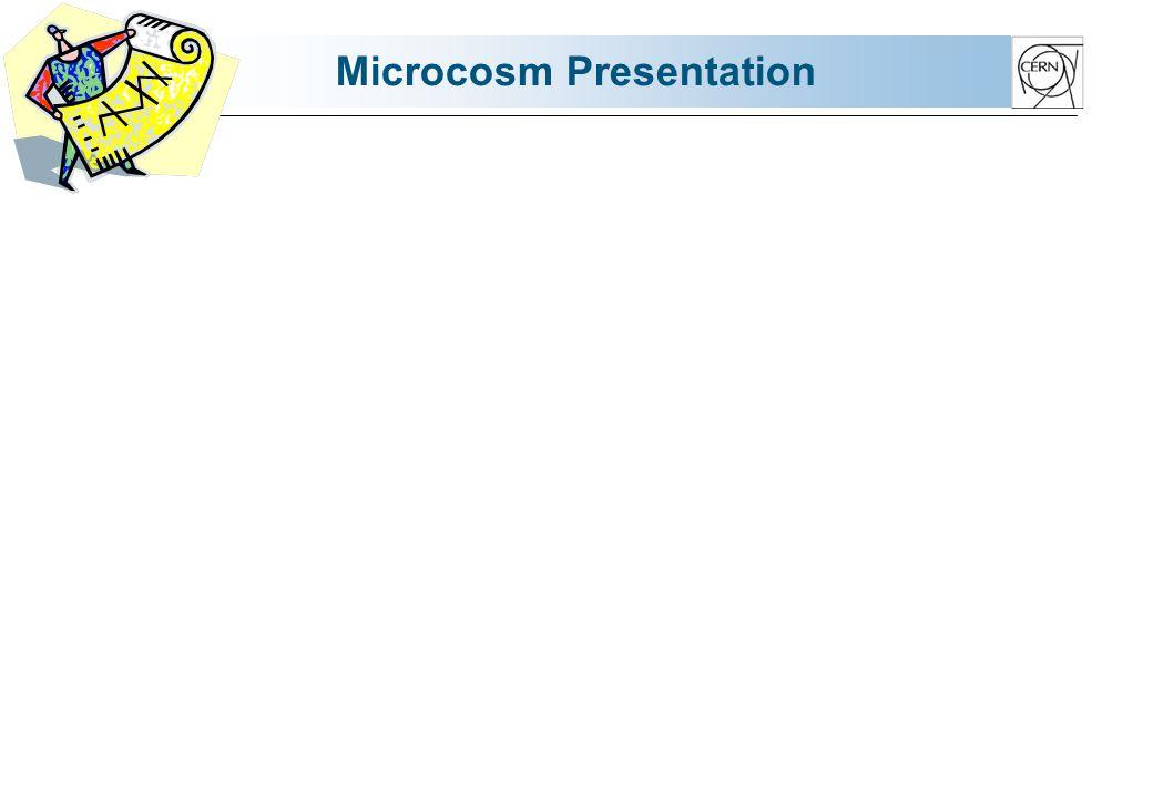 Microcosm Presentation