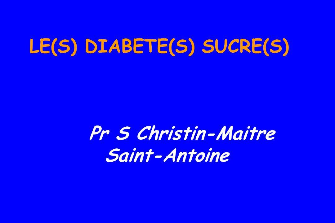 « Le diabète consiste en une liquéfaction des chairs et des parties solides du corps dans lurine...