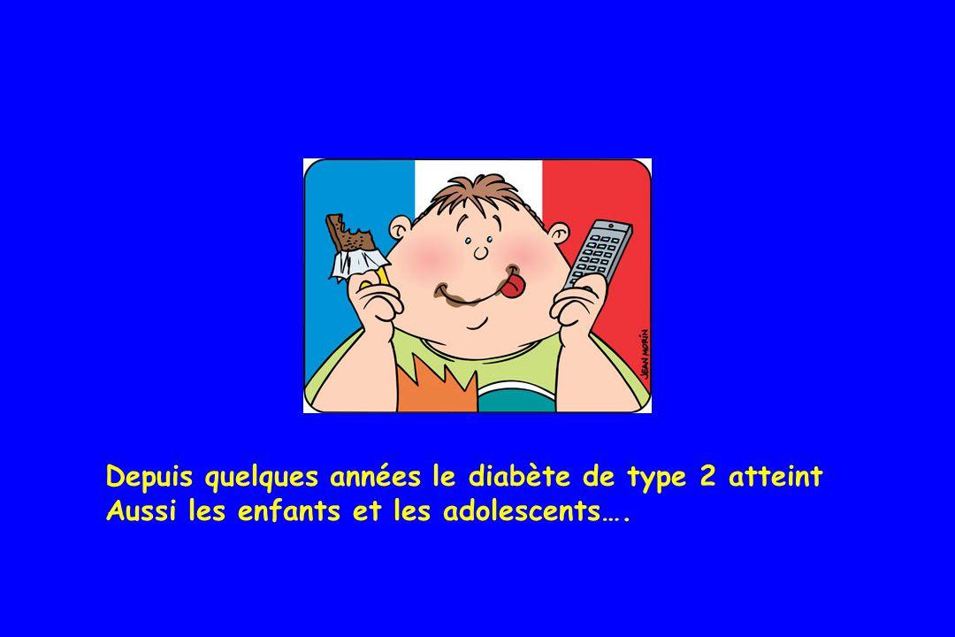 Diabète de type 2 :