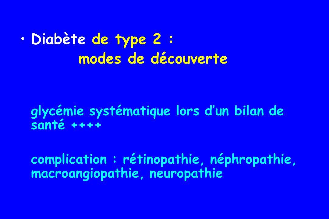 ATTENTION Diabète de type africain Origine génétique .