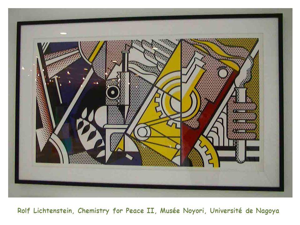 Rolf Lichtenstein, Chemistry for Peace II, Musée Noyori, Université de Nagoya