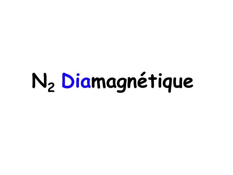 N 2 Diamagnétique