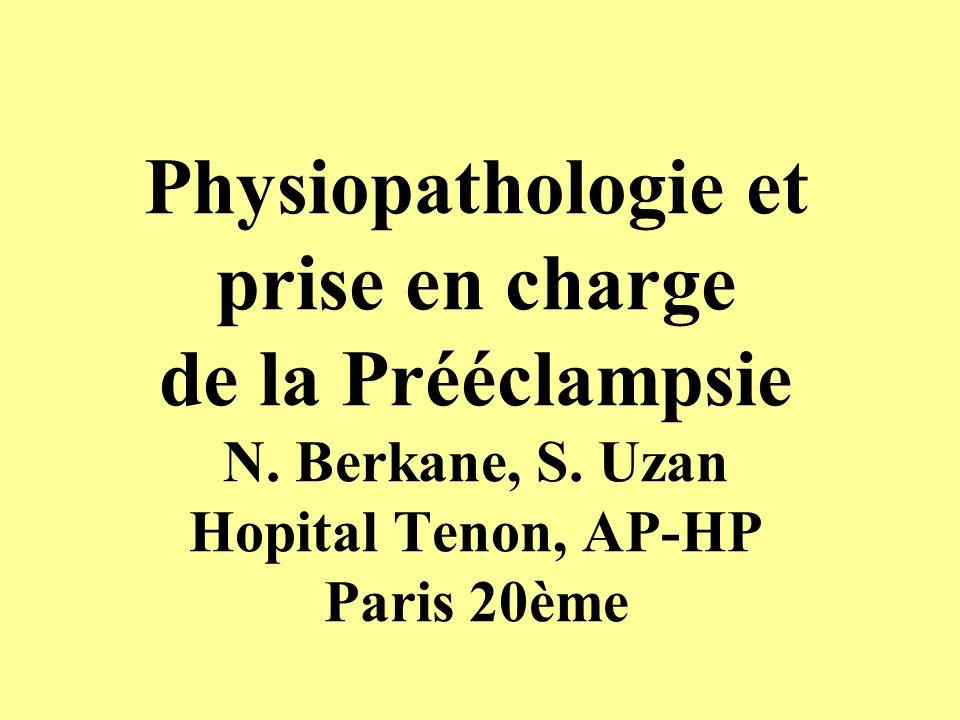 COMPLICATIONS DU HELLP Syndrome (442 patientes) Sibai, Am.J.O.G.,1993 ComplicationsNb% CIVD9221 HRP6916 IRA338 OAP266 EPCHT pleural266 Oedème cérébral41 Décollement de rétine41 Hématome sous capsul.