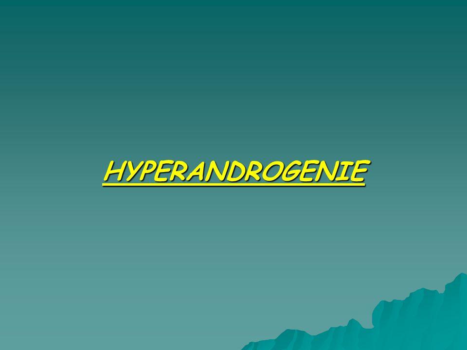 HYPERANDROGENIE