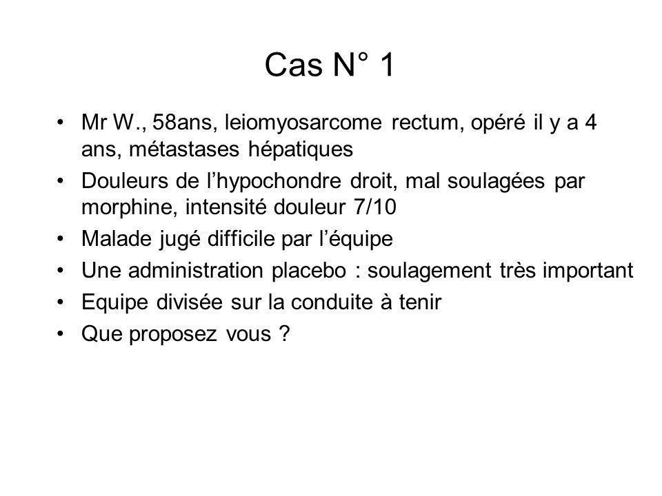 Cas N° 6 Mr T.
