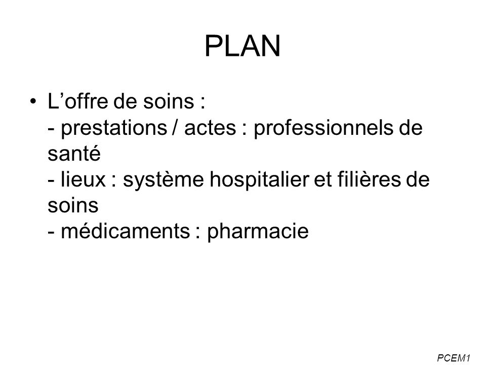PCEM1 Professions de santé LES PROFESSIONS MÉDICALES : 4 PROFESSIONS DISTINCTES - les médecins - les chirurgiens-dentistes - les pharmaciens - les sages-femmes : professions médicales à compétence définie