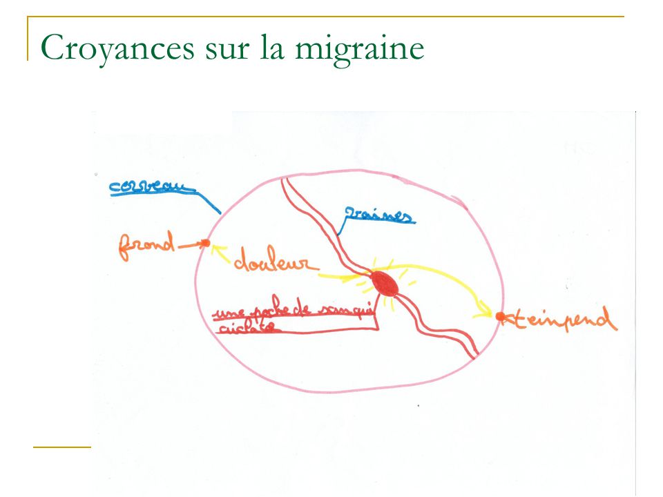 Croyances sur la migraine