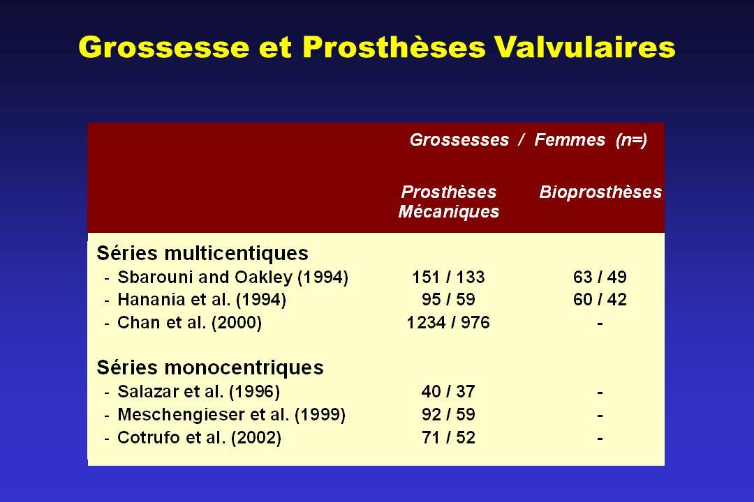 Grossesse et Prosthèses Valvulaires