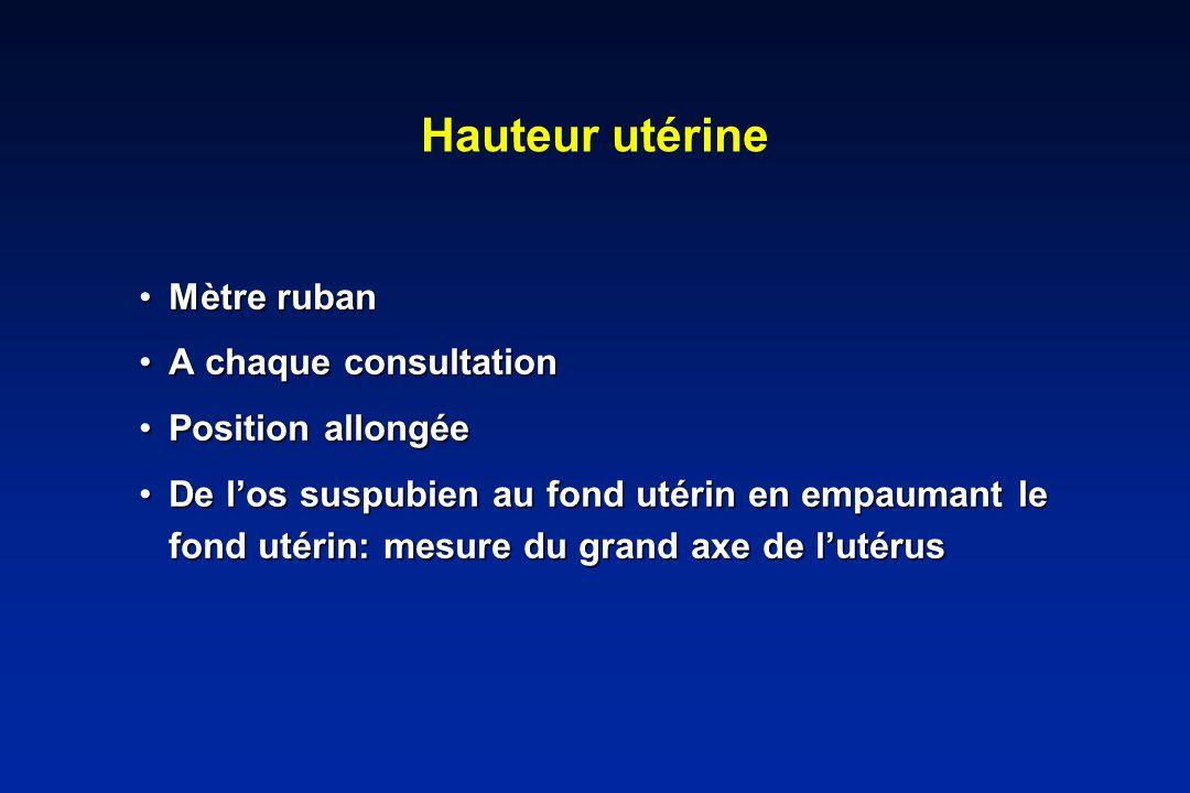 RCIU vasculaire ATCD « vasculaire » .= 20% de récidiveATCD « vasculaire » .