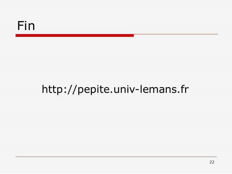 22 Fin http://pepite.univ-lemans.fr