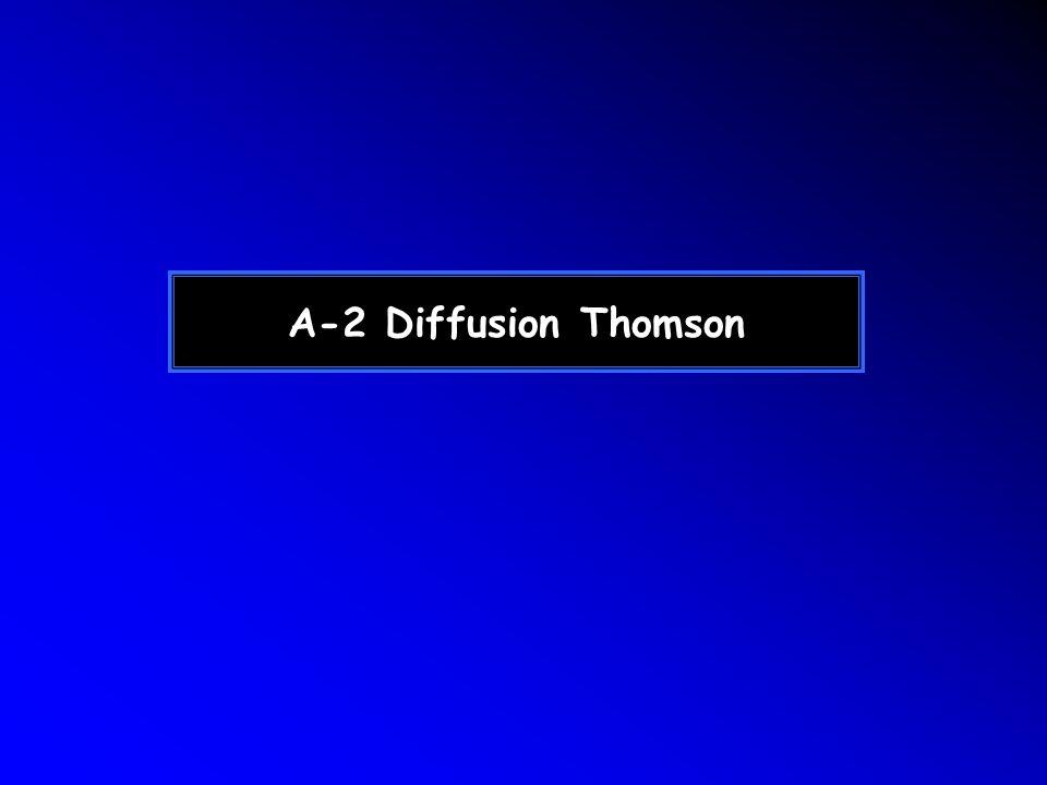 A-2 Diffusion Thomson