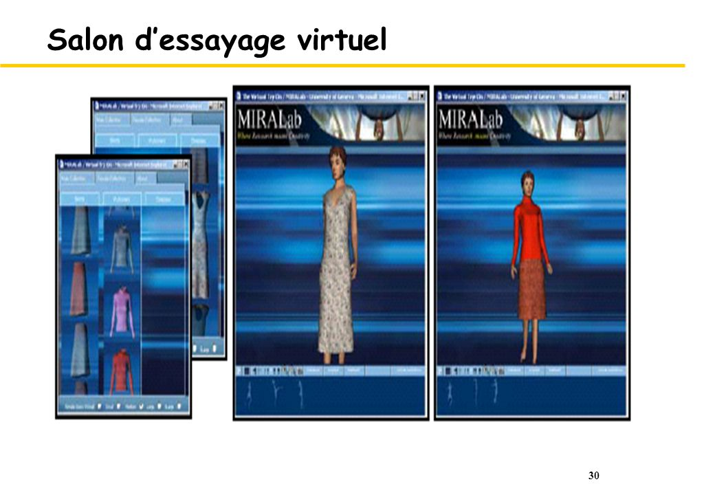 30 Salon dessayage virtuel