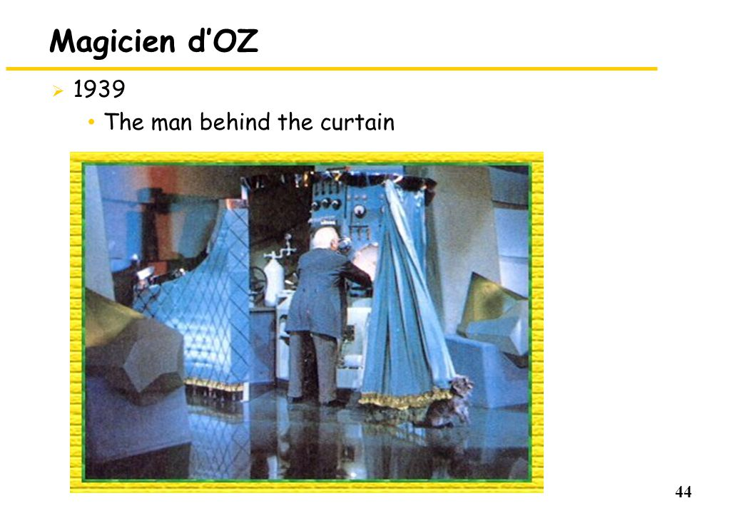 44 Magicien dOZ 1939 The man behind the curtain