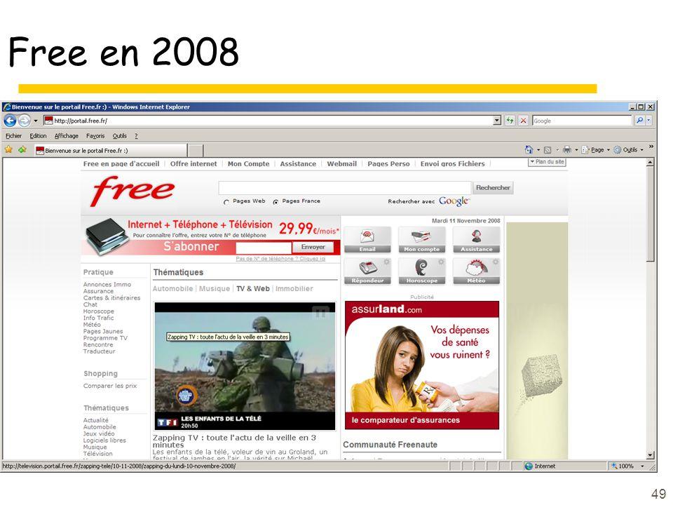 49 Free en 2008