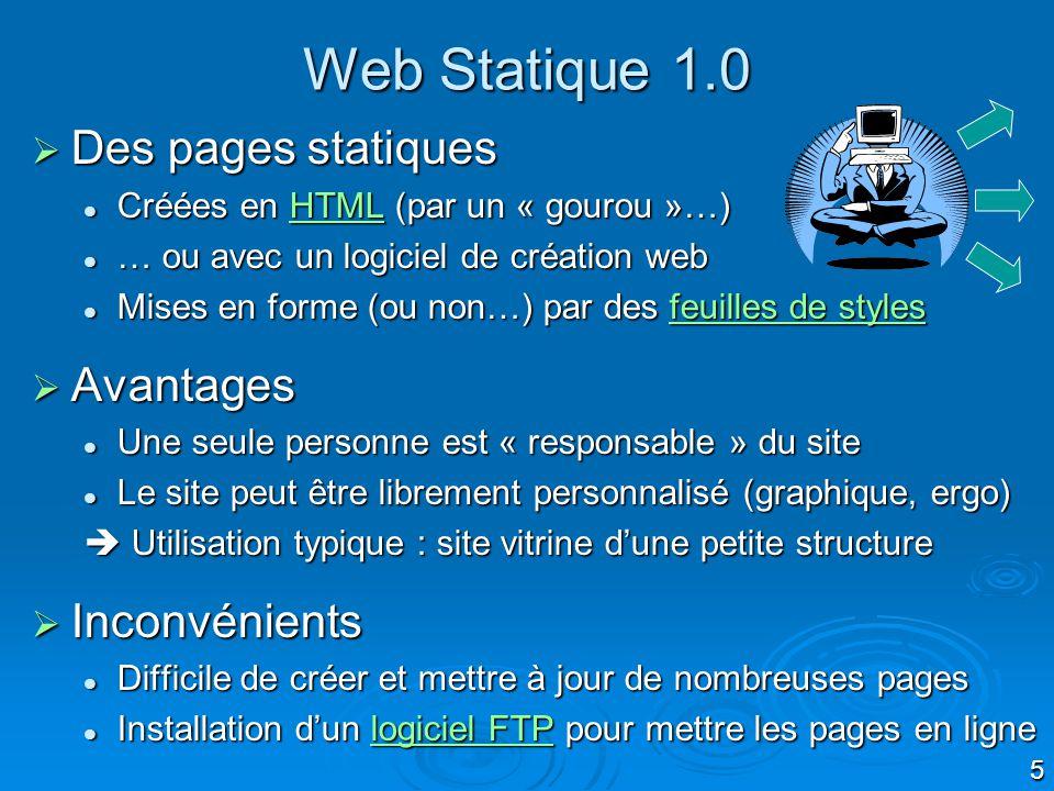 6 Création dune page Web en HTML Page Web Code HTML