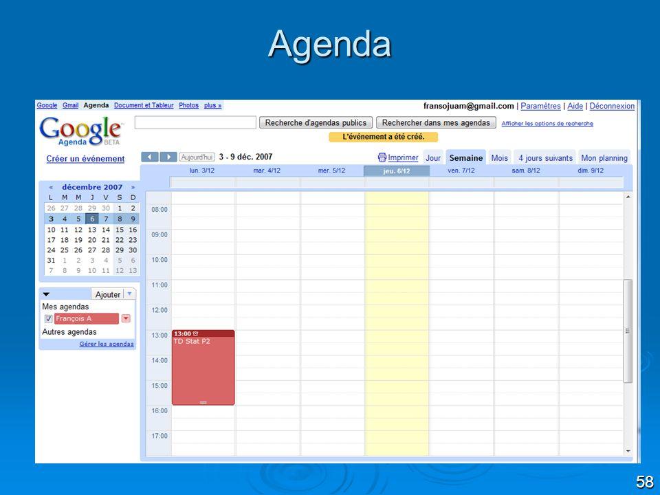 58 Agenda