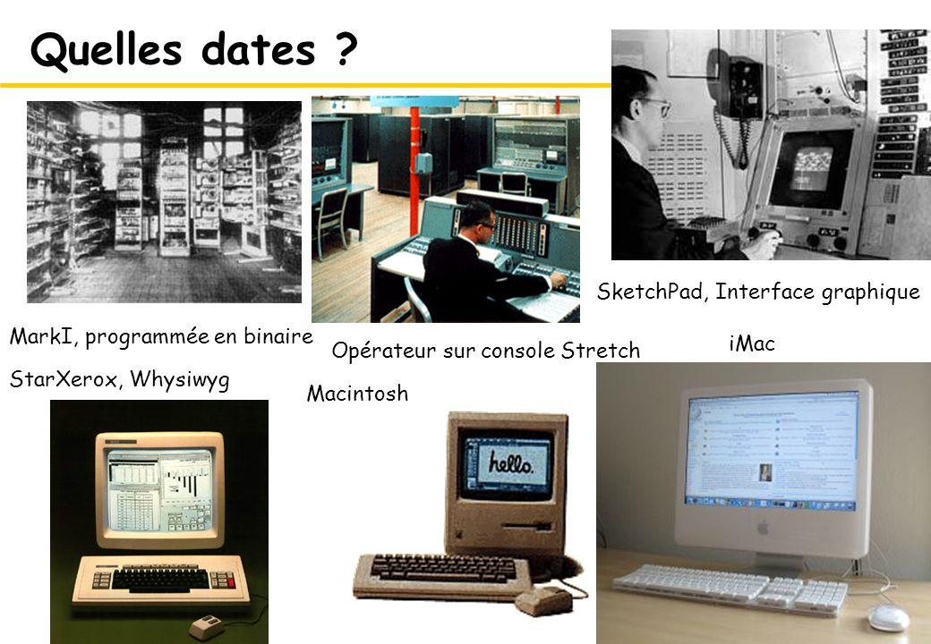 6 Quelles dates ? 1948 1963 1981 1984 actuel 1955