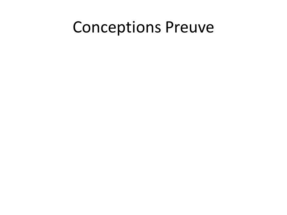 Conceptions Preuve