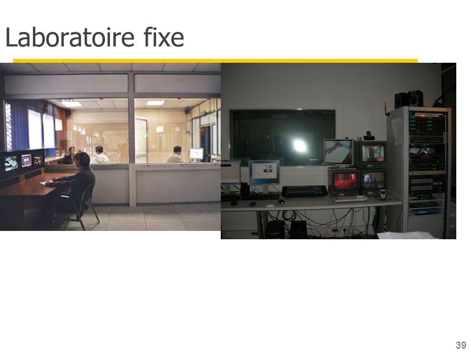 39 Laboratoire fixe