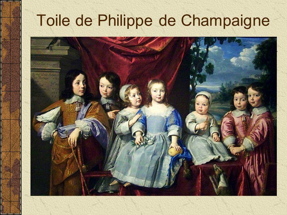 Toile de Philippe de Champaigne