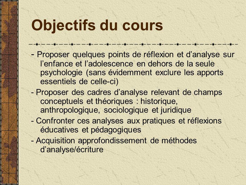 Démarche - Alternance de temps de cours magistral, déchanges, de travail sur des textes, éventuellement extraits de film, interventions (intervenants extérieurs ou étudiant-e-s).