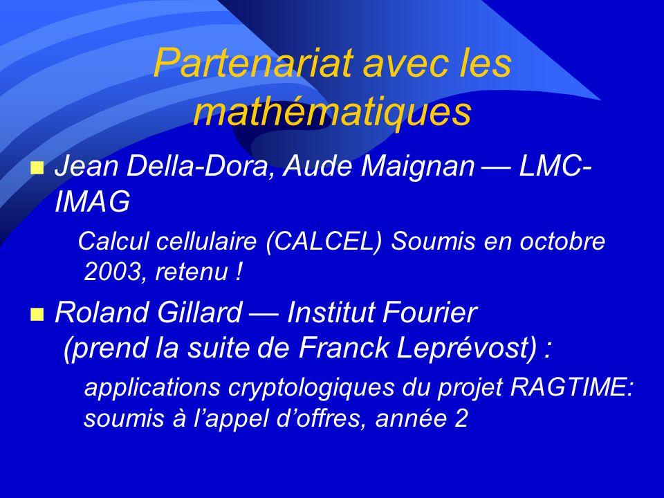 Liste des publications (suite) 12) Nicolas Capit, Georges Da Costa, Guillaume Huard, Cyrille Martin, Gregory Mounie, Pierre Neyron et Olivier Richard.