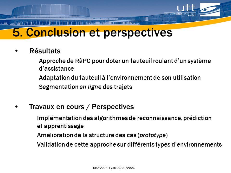 RIAs2006 Lyon 20/03/2006 Merci pour votre attention !