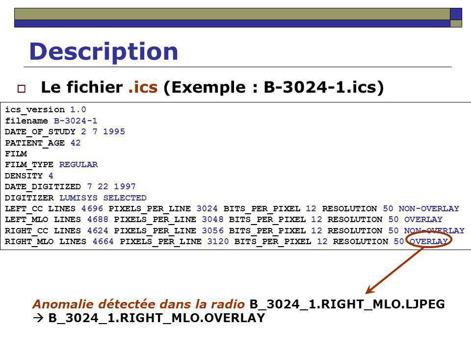 Structure du fichier XML 1 benign 1.0 A-1123-1.ics … sequence … … … …