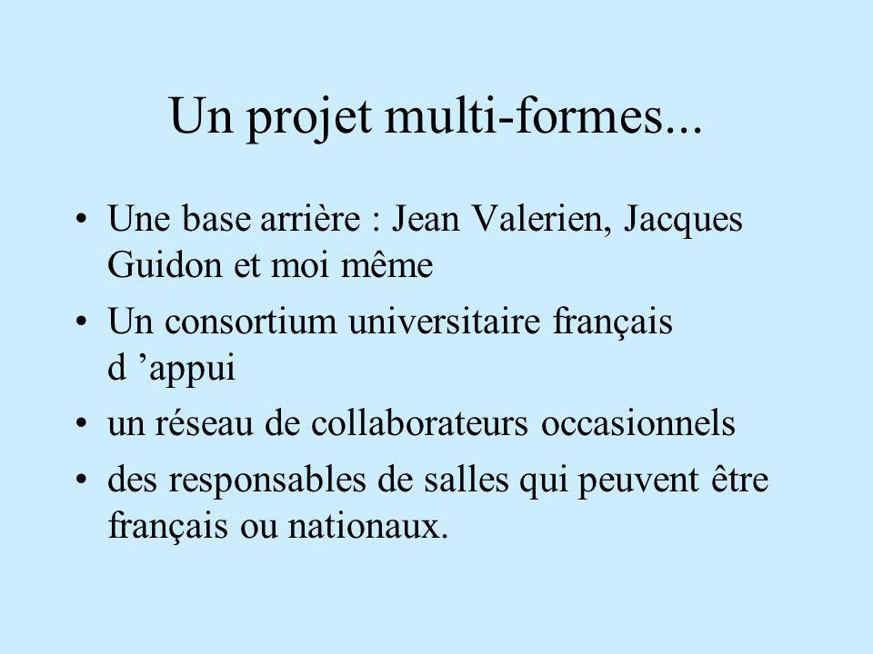 Un projet multi-formes...